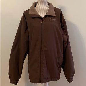 Columbia Men's Fleece Lined Zip Jacket XL